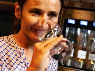 Julie Farinelli vom Weingut Saparale. Foto: Hilke Maunder