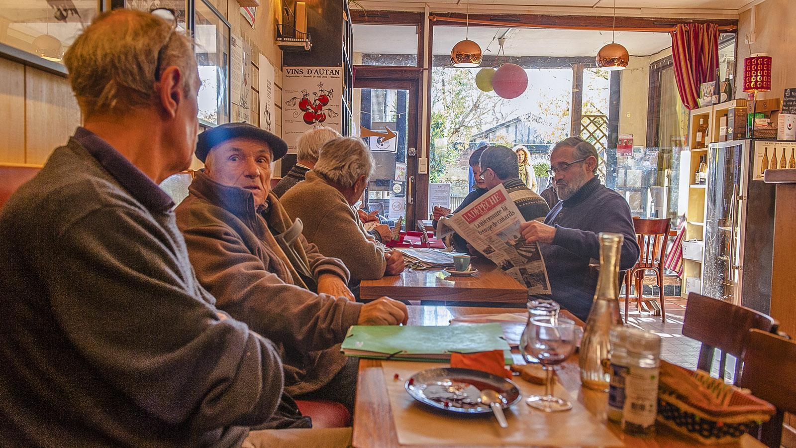 Simorre: Dorftreffpunkt für aller Generationen – das BOA. Foto: Hilke Maunder