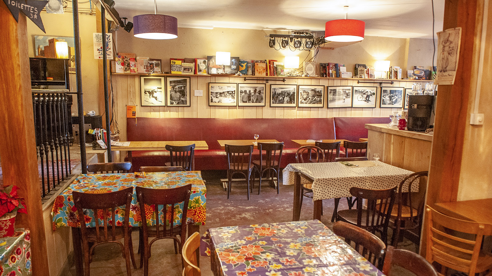 Simorre: der Speisesaal des BAO. Foto: Hilke Maunder
