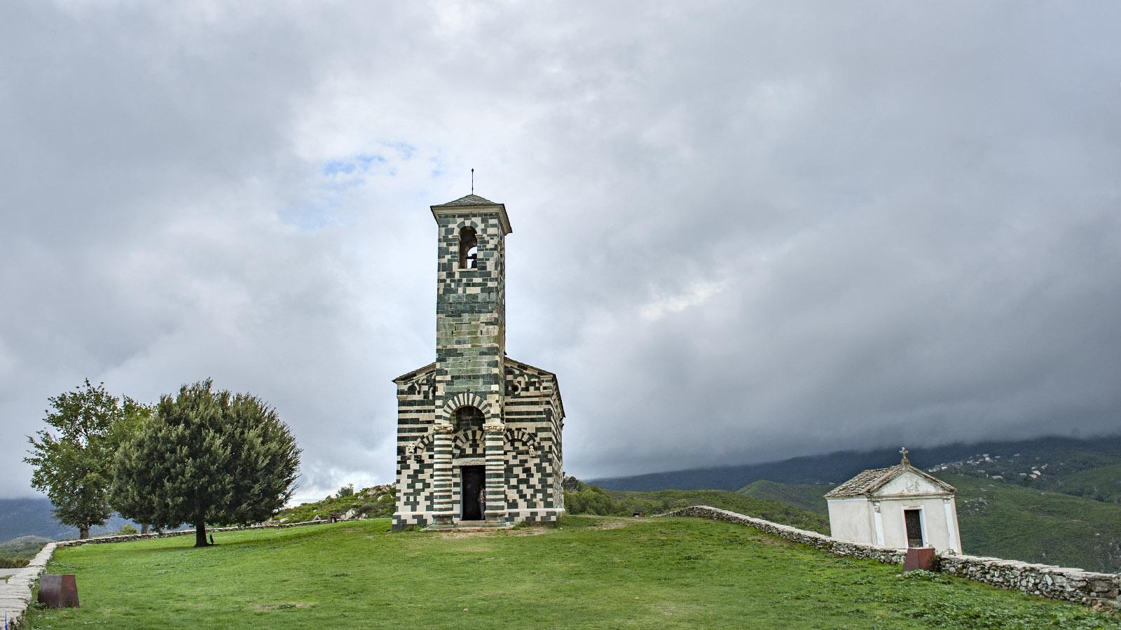 Die Église Saint-Michel von Murato. Foto: Hilke Maunder