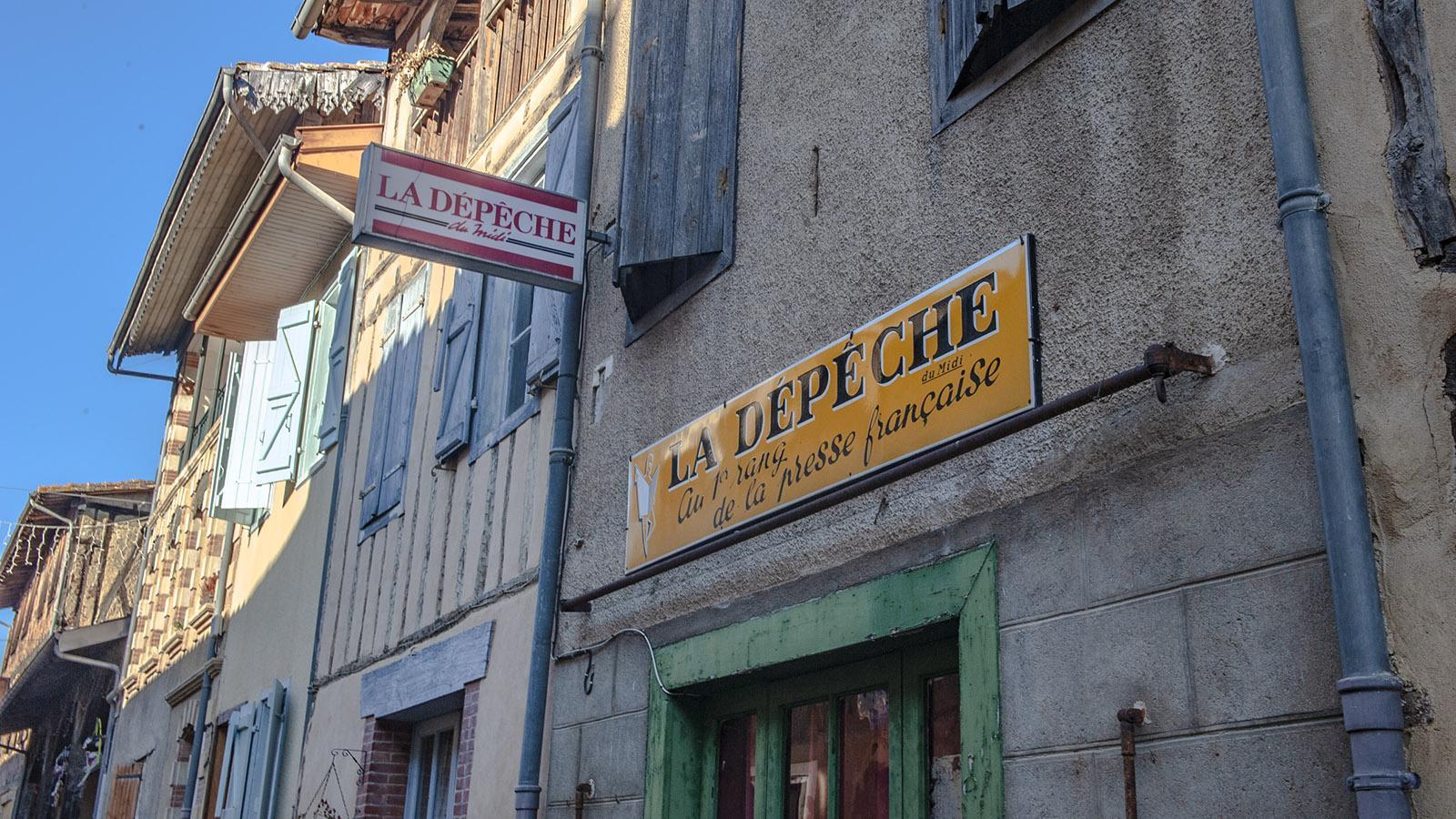 La Depêche du Midi - die große Zeitung des Südens. Foto: Hilke Maunder