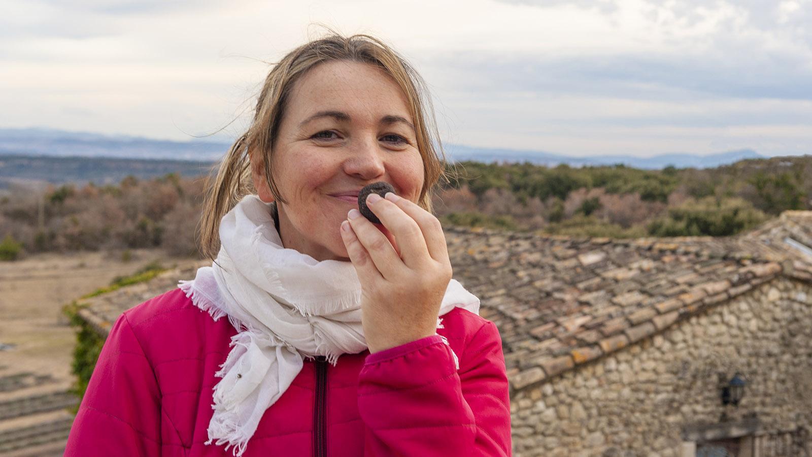 Trüffel-Bäuerin Virginie Simian-Feraud. Foto: Hilke Maunder