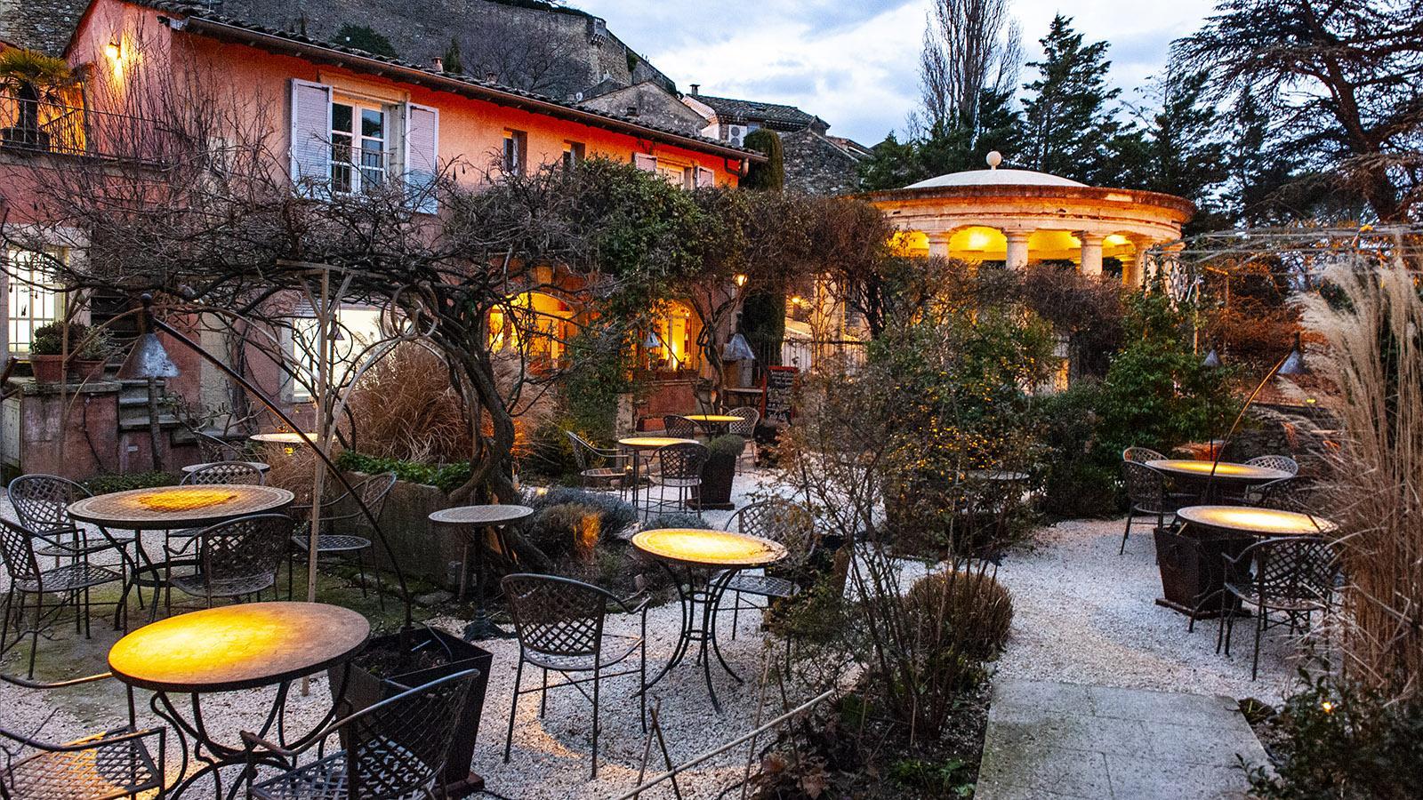 Grignan: Hôtel Clair de Plume. Foto: Hilke Maunder