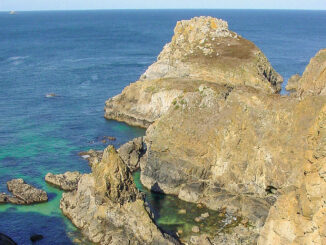 Am Cap Sizun beginnt das Département Finistere. Foto: Hilke Maunder