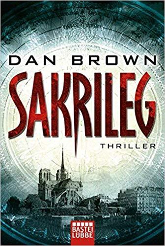 Dan Brown: Sakrileg.