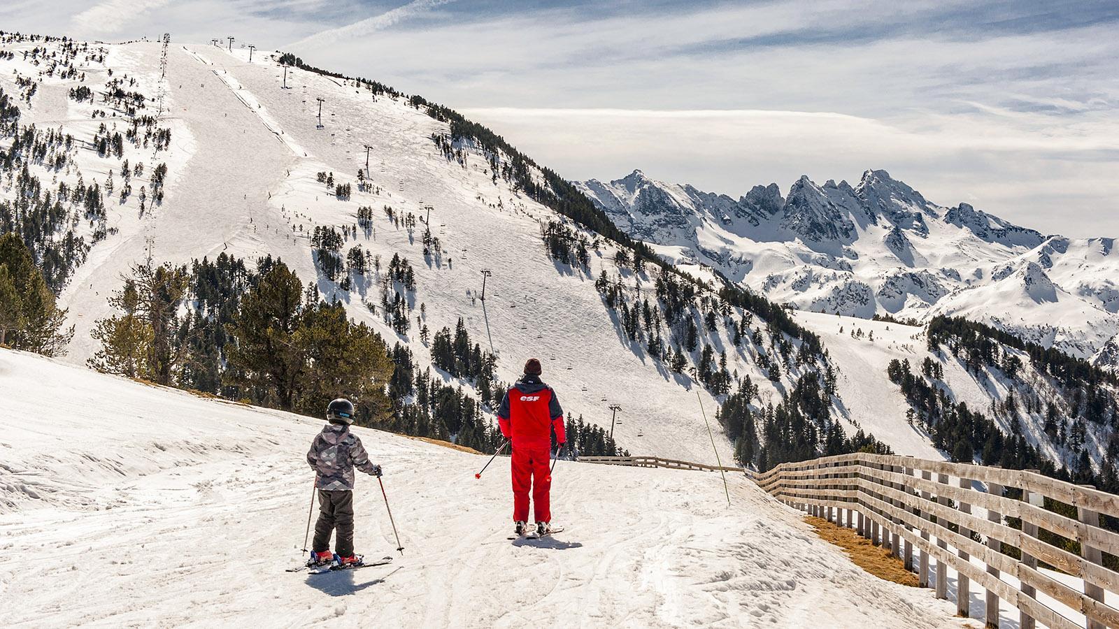 Ski & Spa: Ax-3-Domaines. Foto: Hilke Maunder