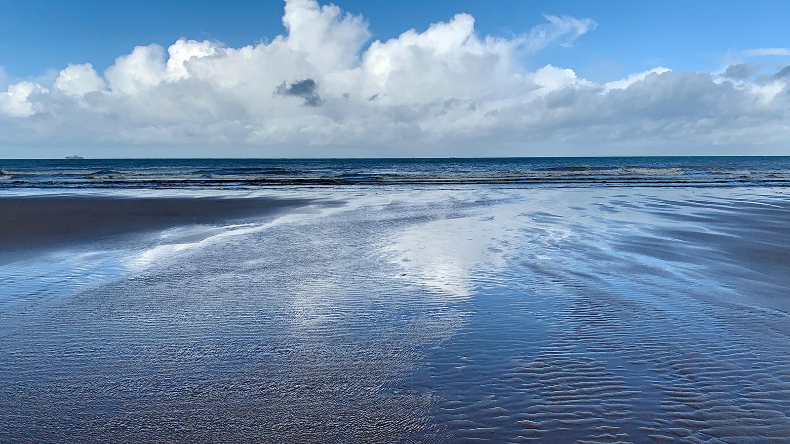 Ebbe an der Opalküste. Foto: Hilke Maunder