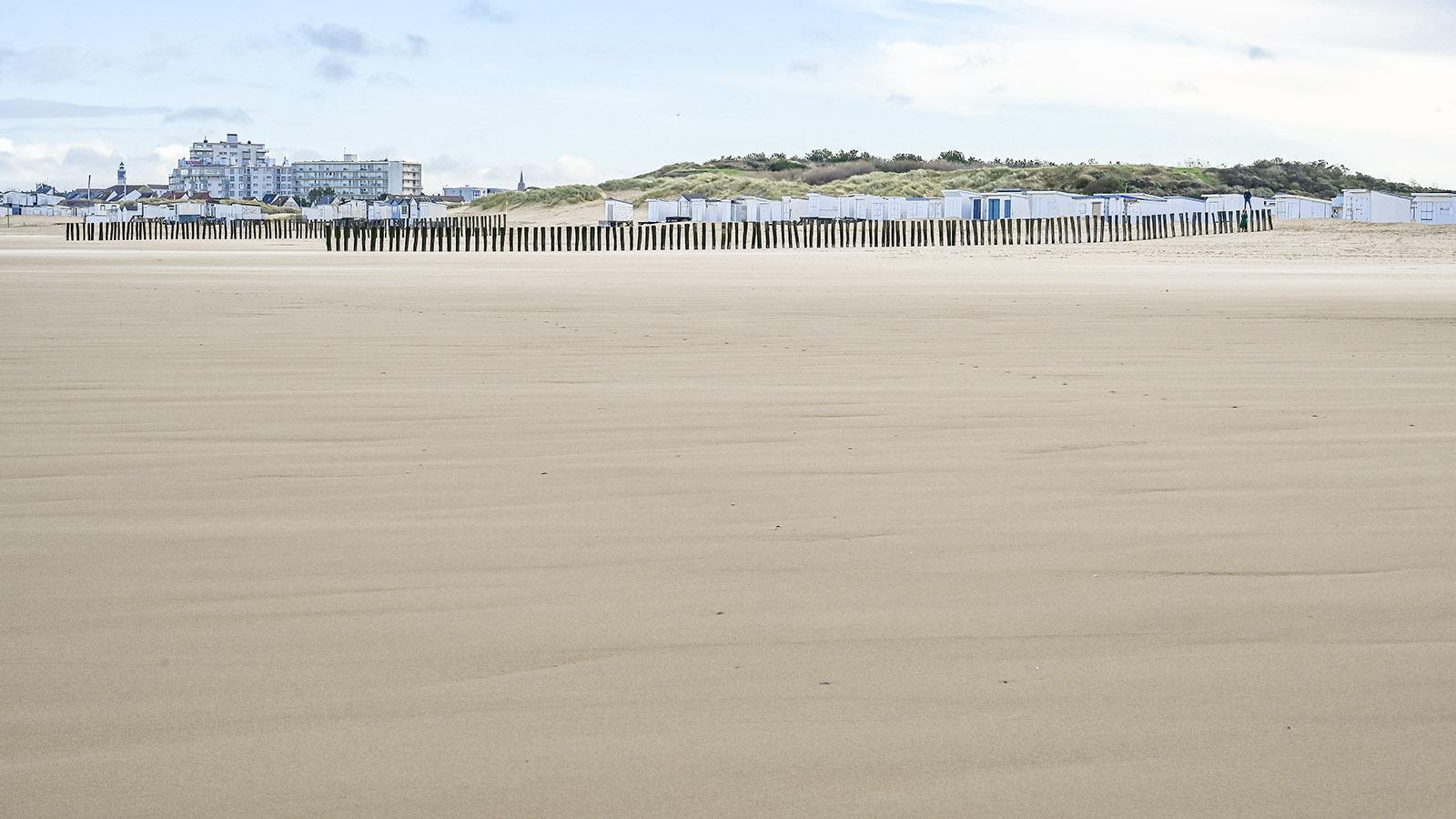 Calais, Strand. Foto: Hilke Maunder