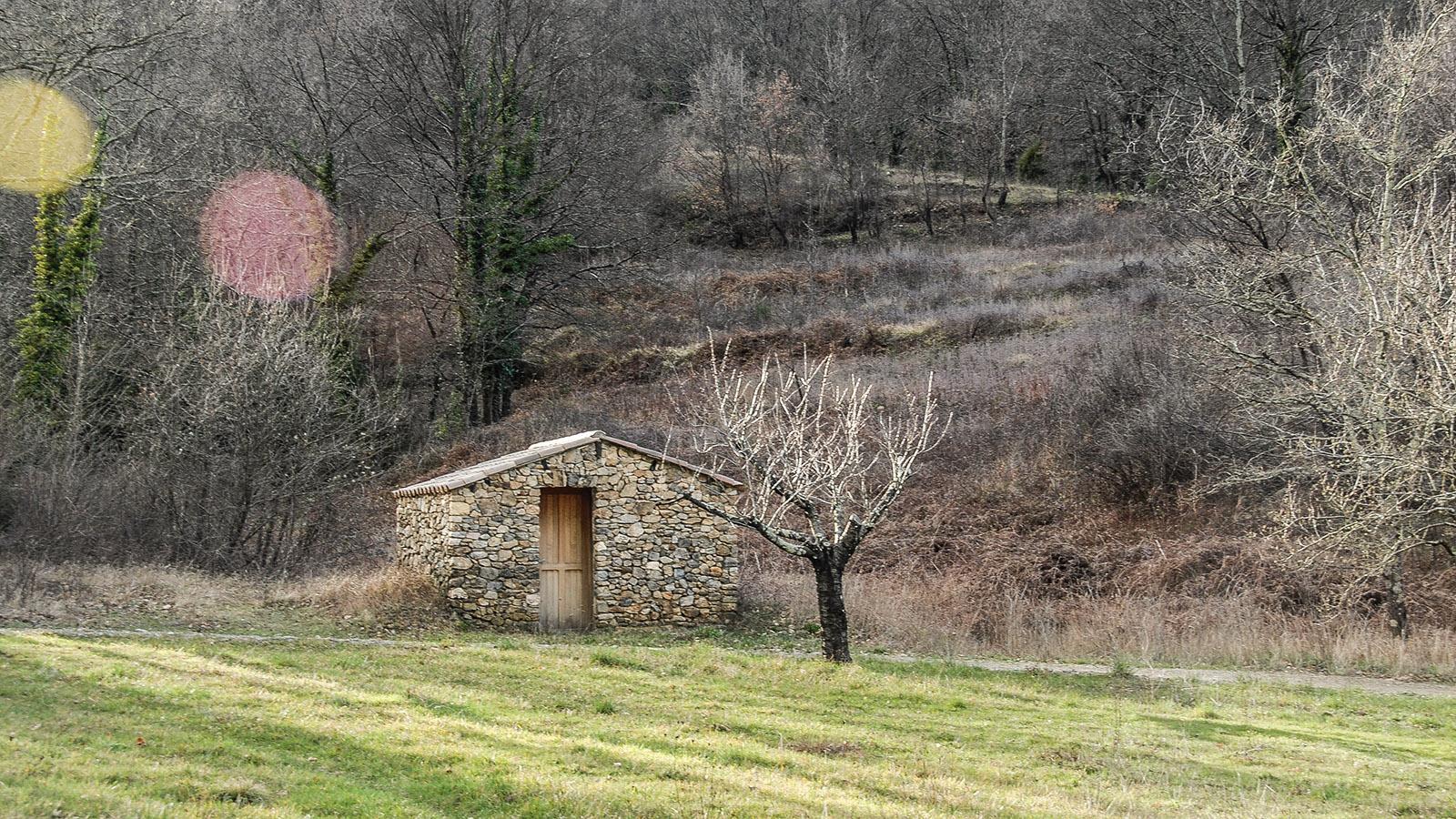 Einsame Schäferhütte in den Cevennen. Foto: Hilke Maunder