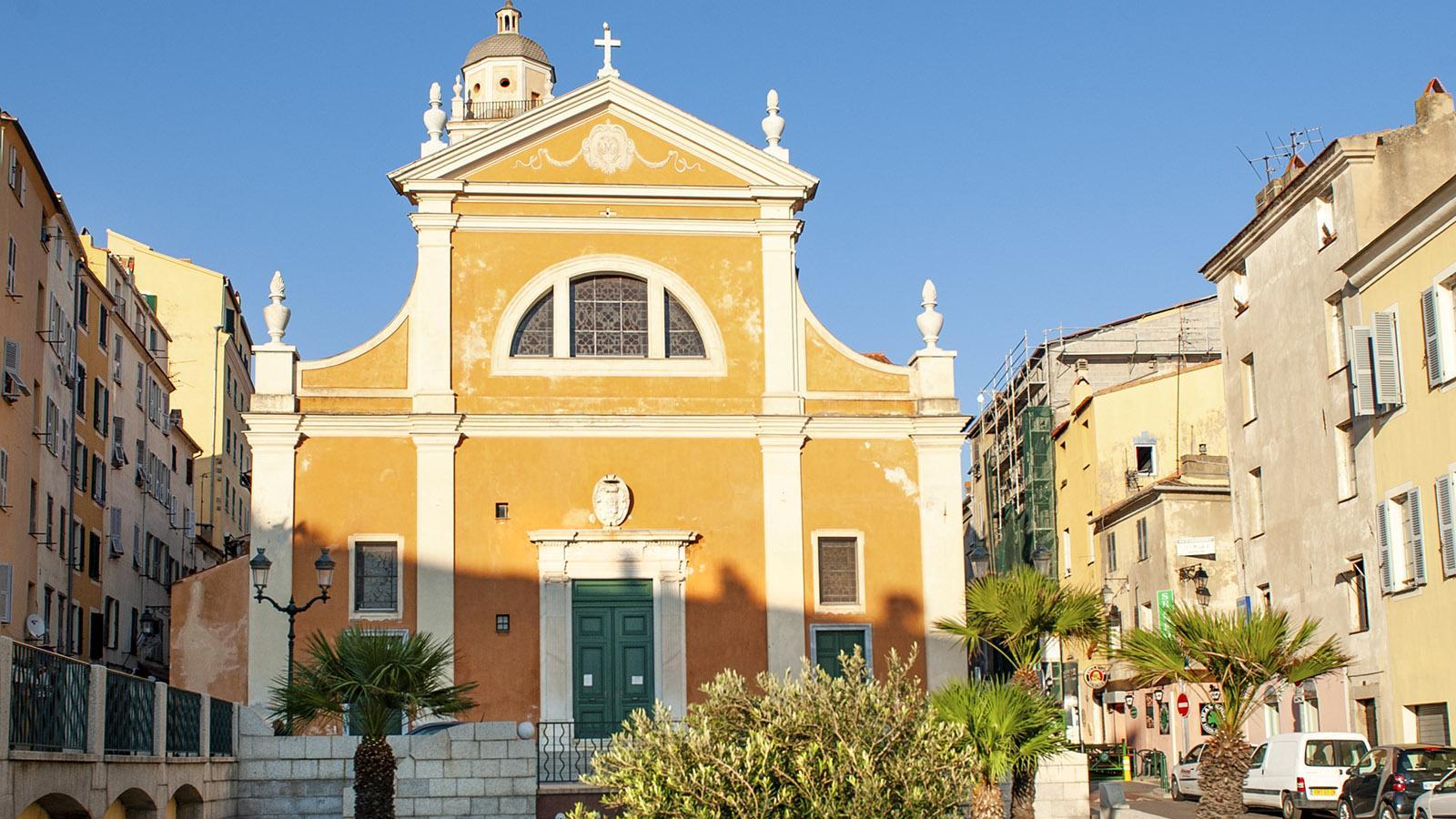 Die Kathedrale von Ajaccio. Foto: Hilke Maunder