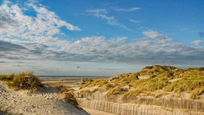 Die Opalküste bei Berck-sur-Mer. Foto: Hilke Maunder