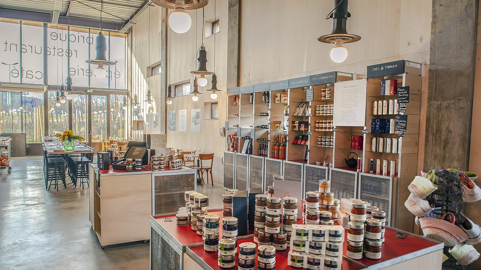 Das Boutique-Bistro von aix & terre. Foto: Hilke Maunder