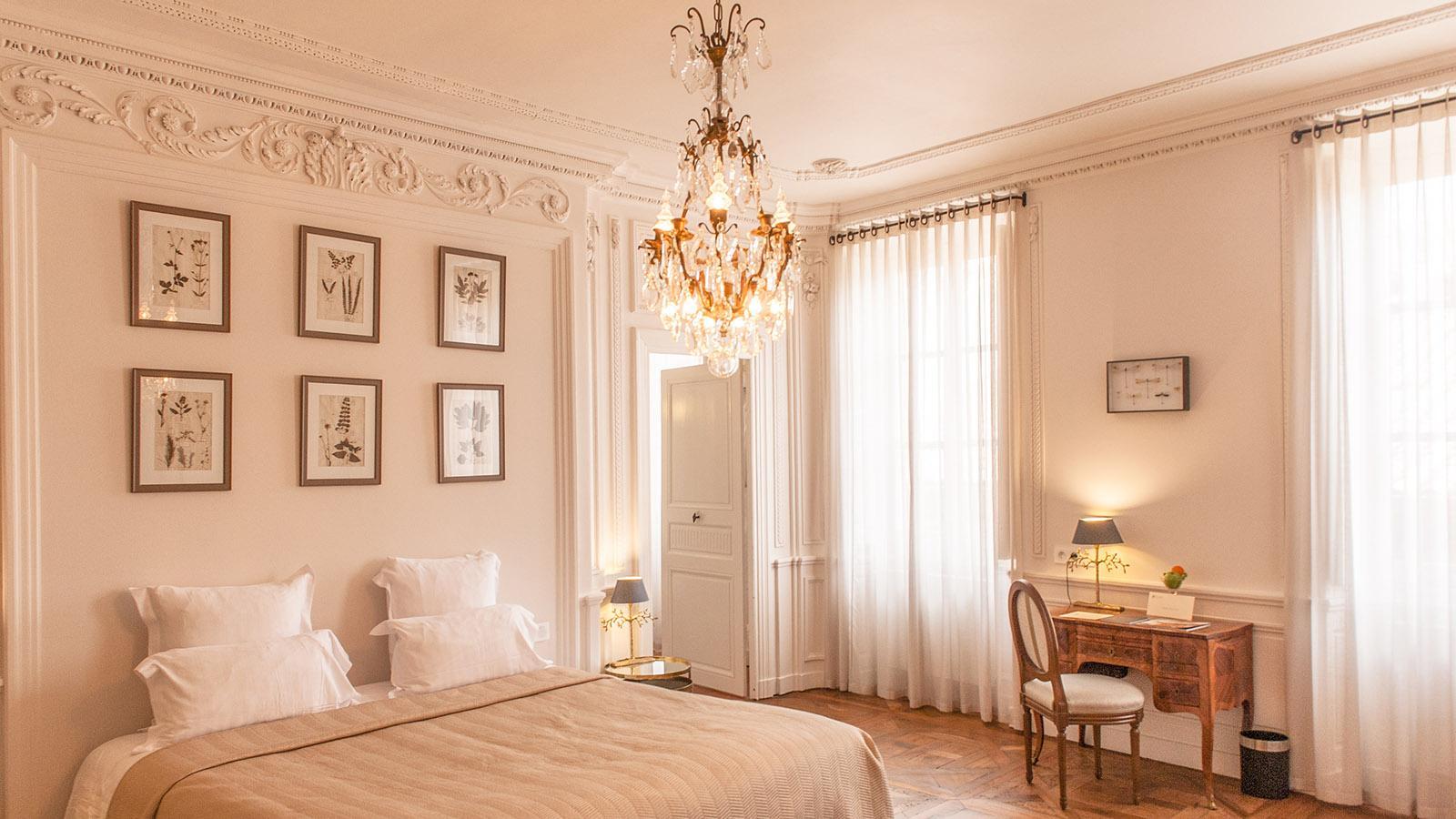 Tournon. Edel: die Zimmer im Hôtel de la Villeon. Foto: Hilke Maunder