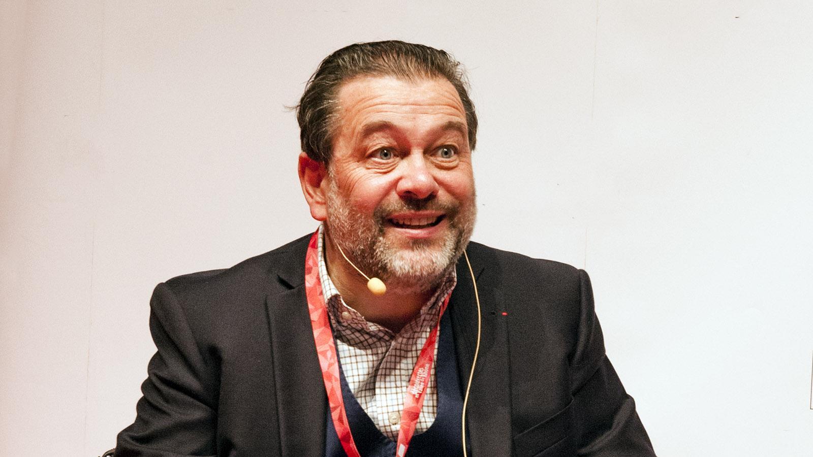 Michel Chapoutier vom gleichnamigen Weinhaus und Keller. Foto: Hilke Maunder