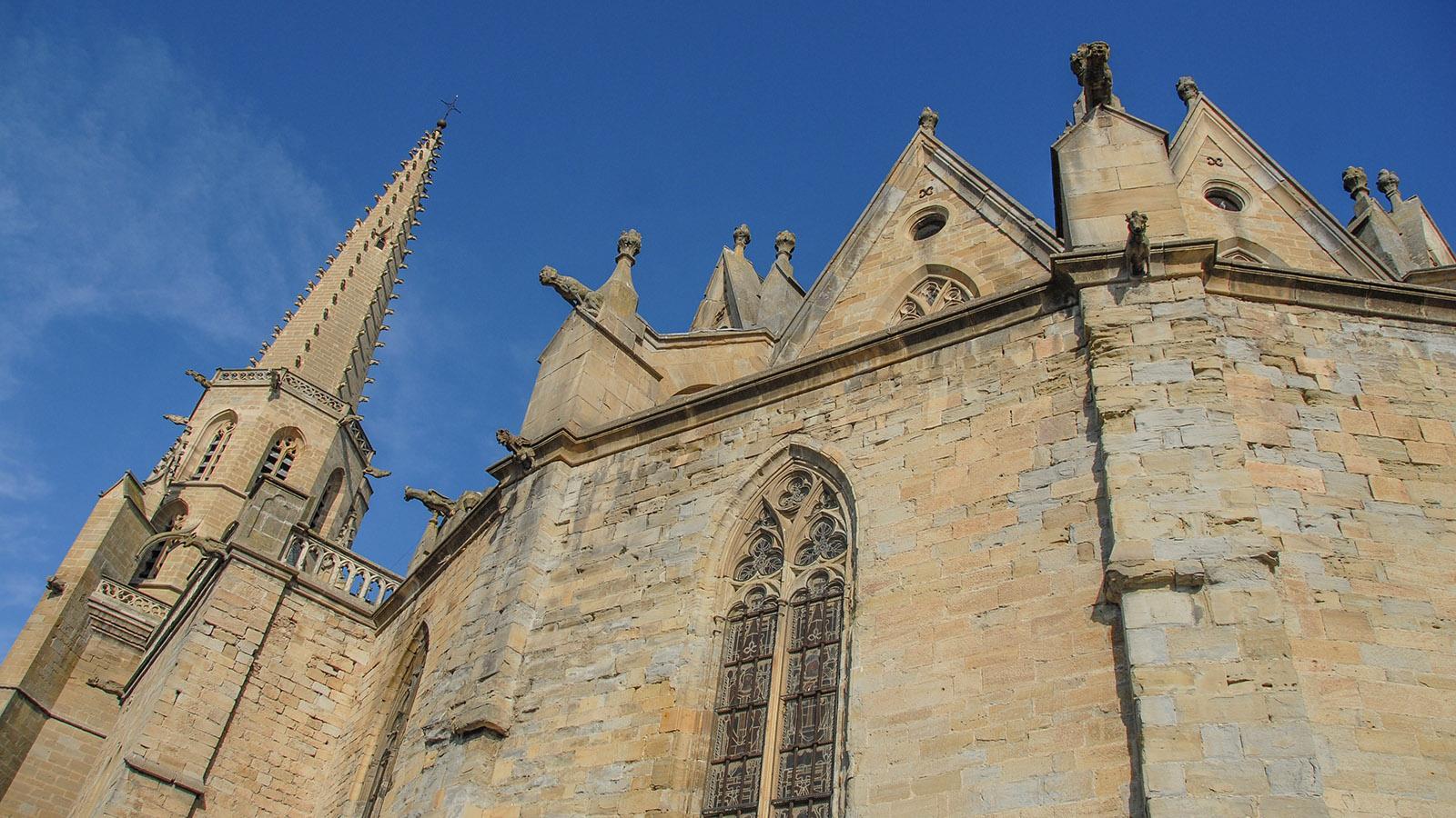 Die Kathedrale von MIrepoix. Foto: Hilke Maunder