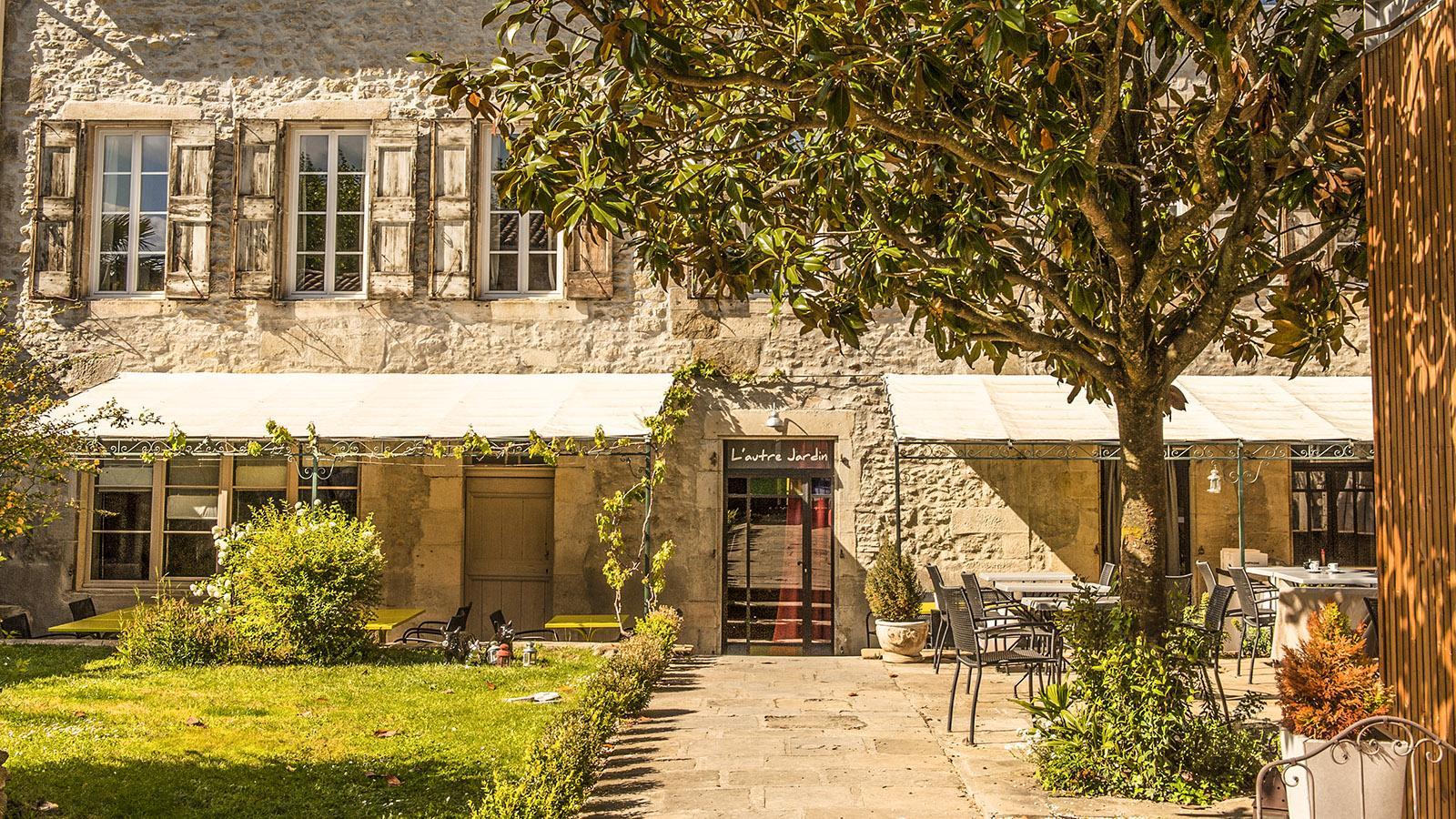 Mirepoix, Restaurant L'Autre Jardin. Foto: Hilke Maunder