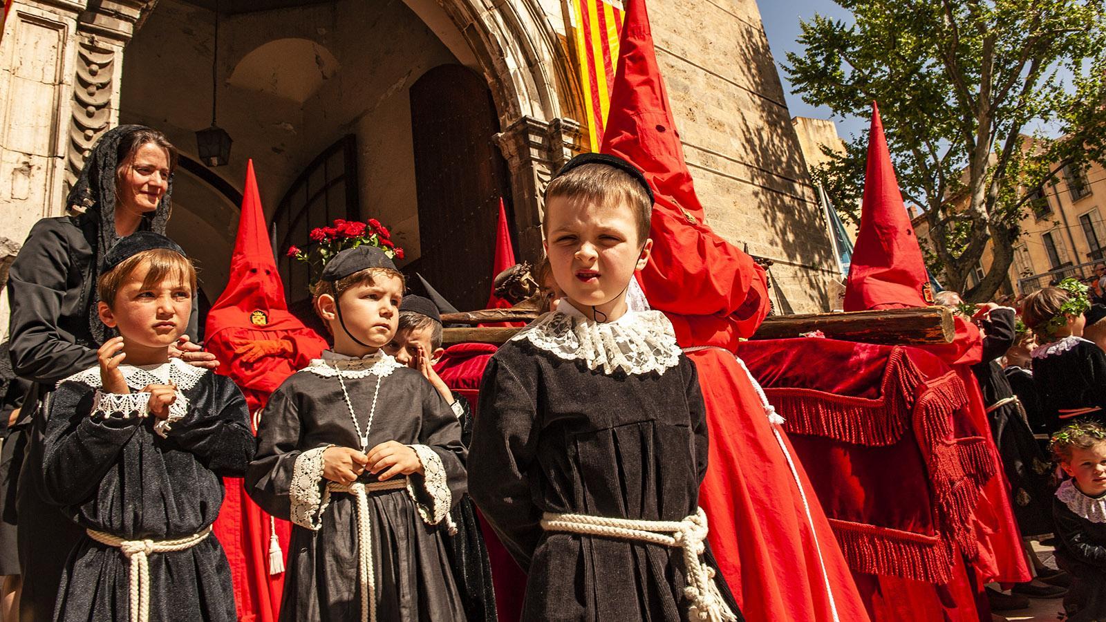 La Sanch, die große Karfreitagsprozession von Perpignan. Foto: Hilke Maunder