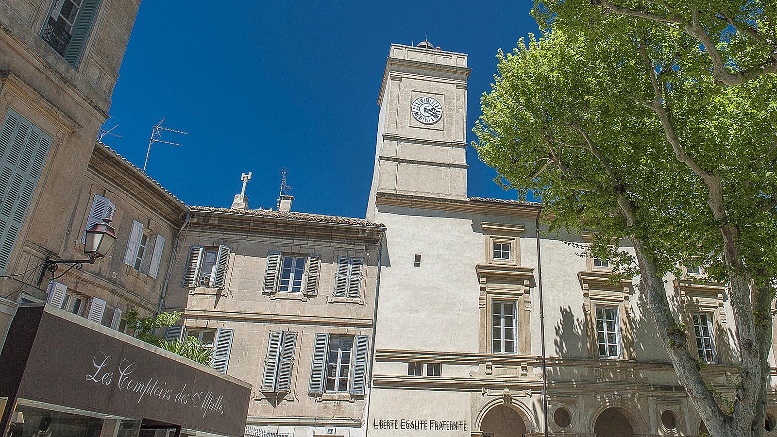 Saint-Rémy-de-Provence: das Rathaus. Foto: Hilke Maunder