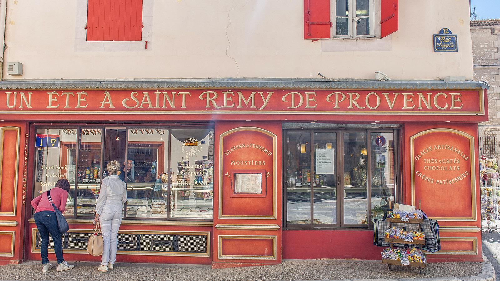 Auch süße Verführer findet ihr in Saint-Rémy-de-Provence. Foto: Hilke Maunder