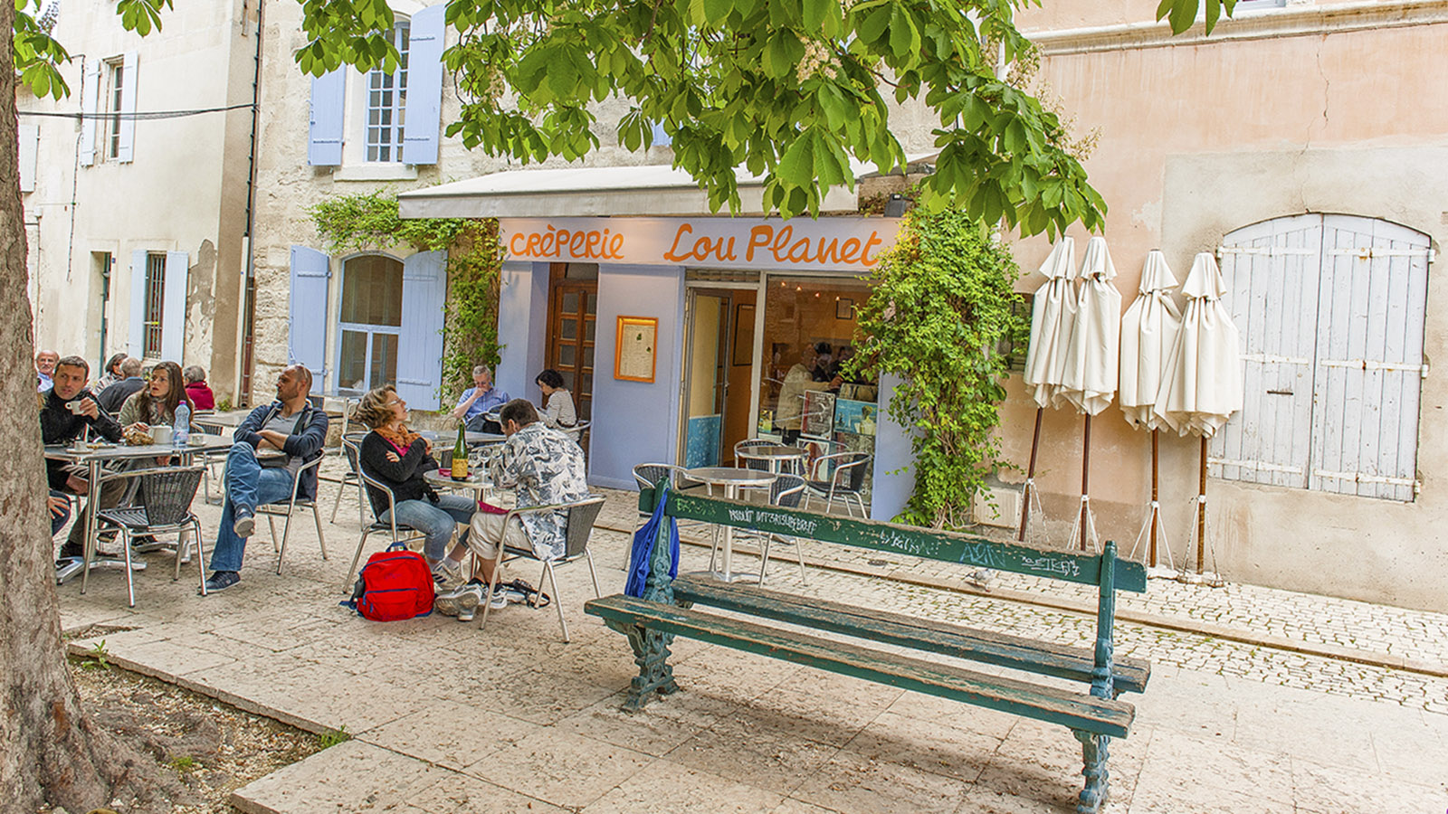 Crêperie in Saint-Rémy-de-Provence. Foto: Hilke Maunder