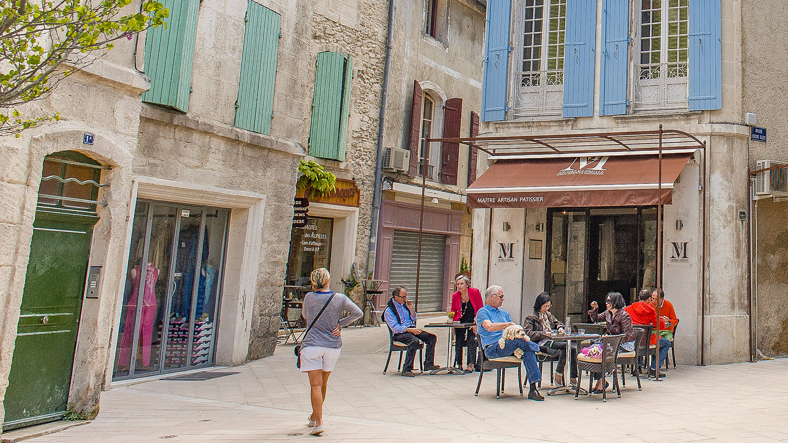 In der Altstadt von Saint-Rémy-de-Provence. Foto: Hike Maunder