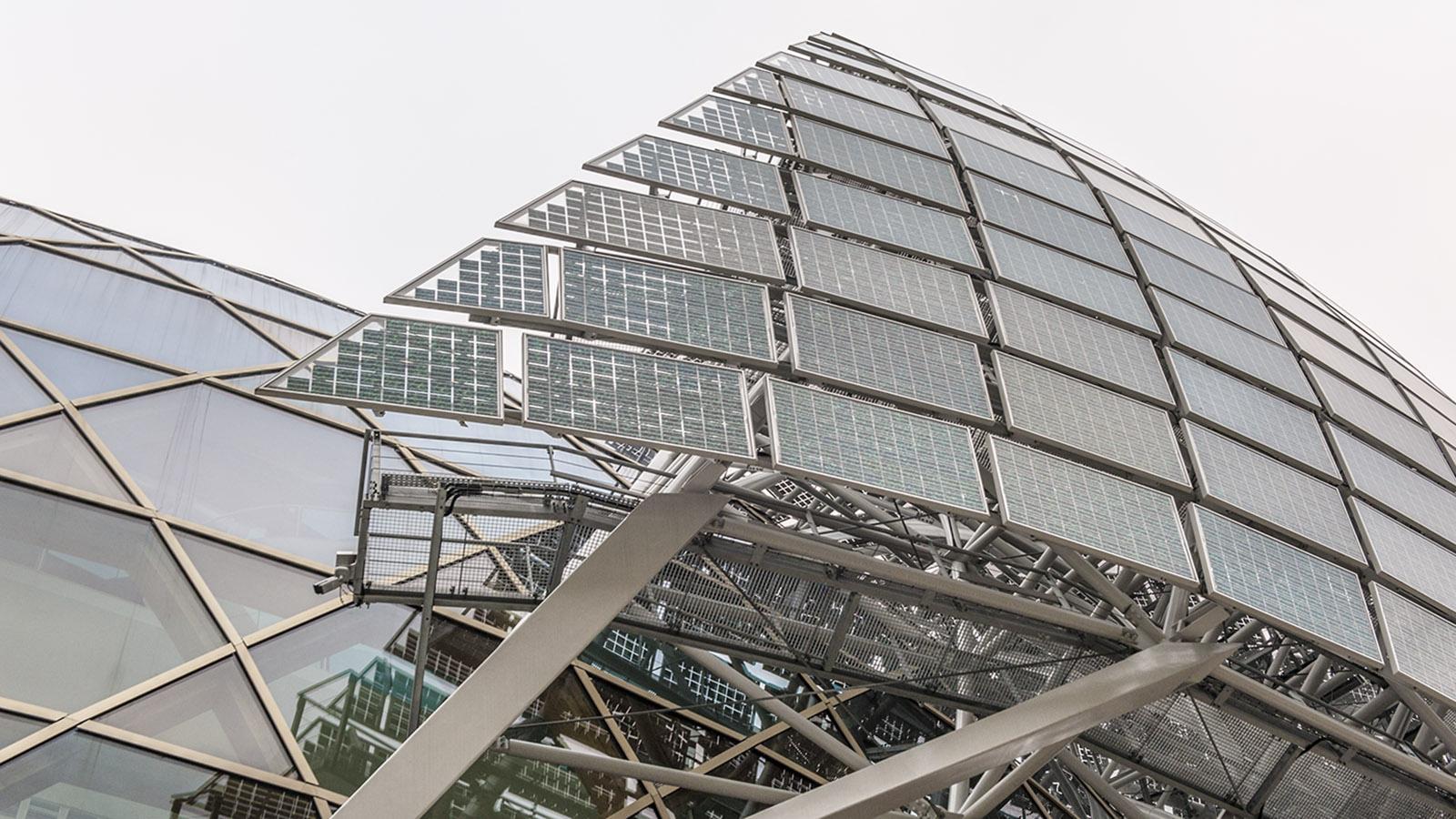 Das Dach der Seine Musicale. Foto: Hilke Maunder