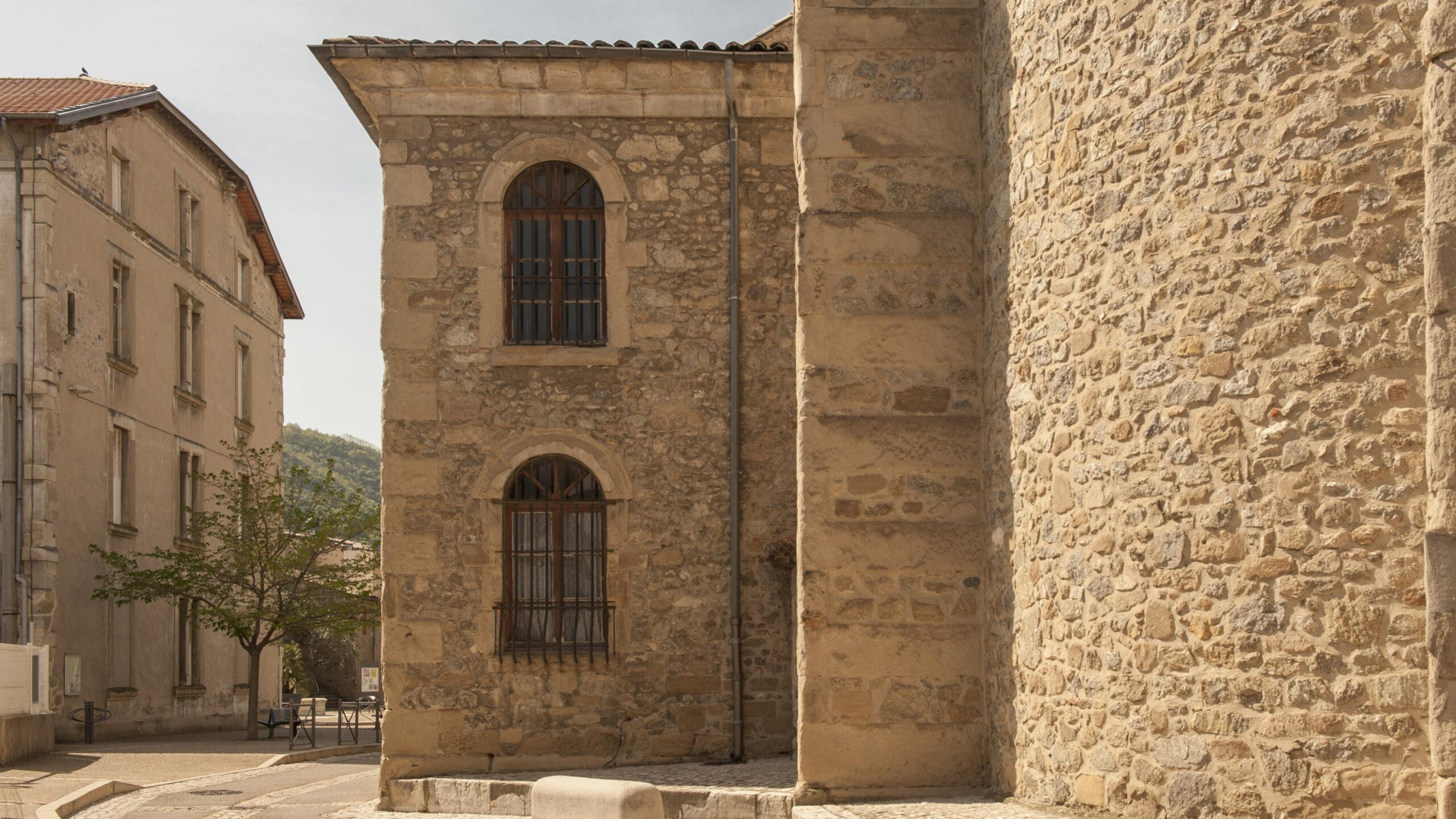 Die katholische Pfarrkirche von Tain-l'Hermitage. Hilke Maunder