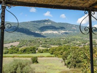 Baracci: Ausblick nach Olmeto. Foto. Hilke Maunder