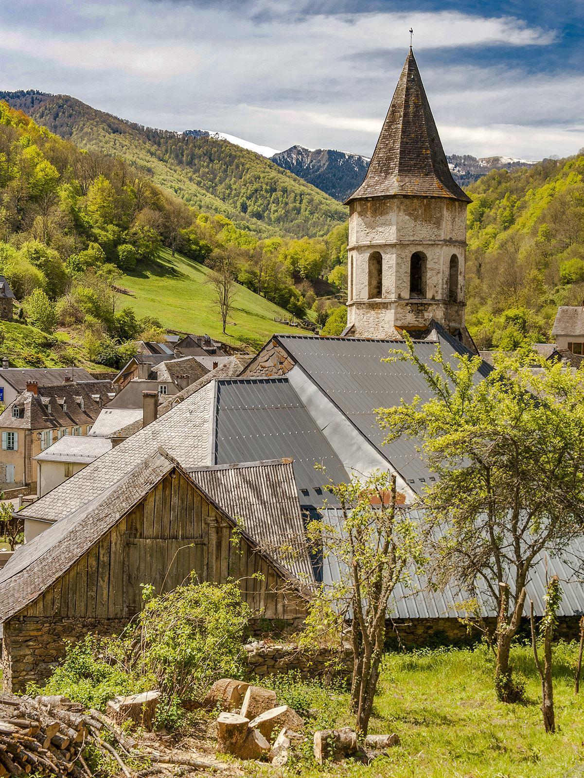 Das Bergdorf Saint-Lary in Ariège. Foto: Hilke Maunder