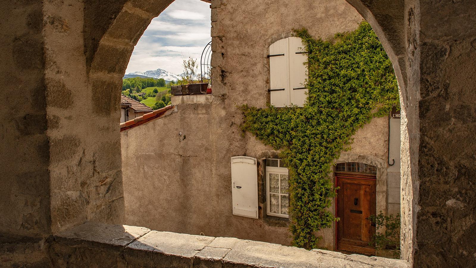 Ariège: in der Altstadt von Saint-Lizier. Foto: Hilke Maunder