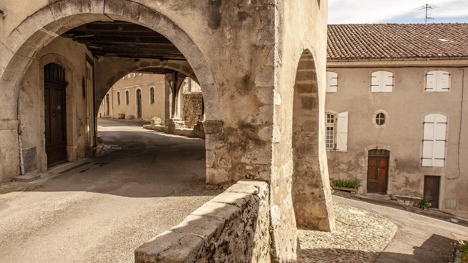 Saint-Lizier: in der Altstadt. Foto: Hilke Maunder