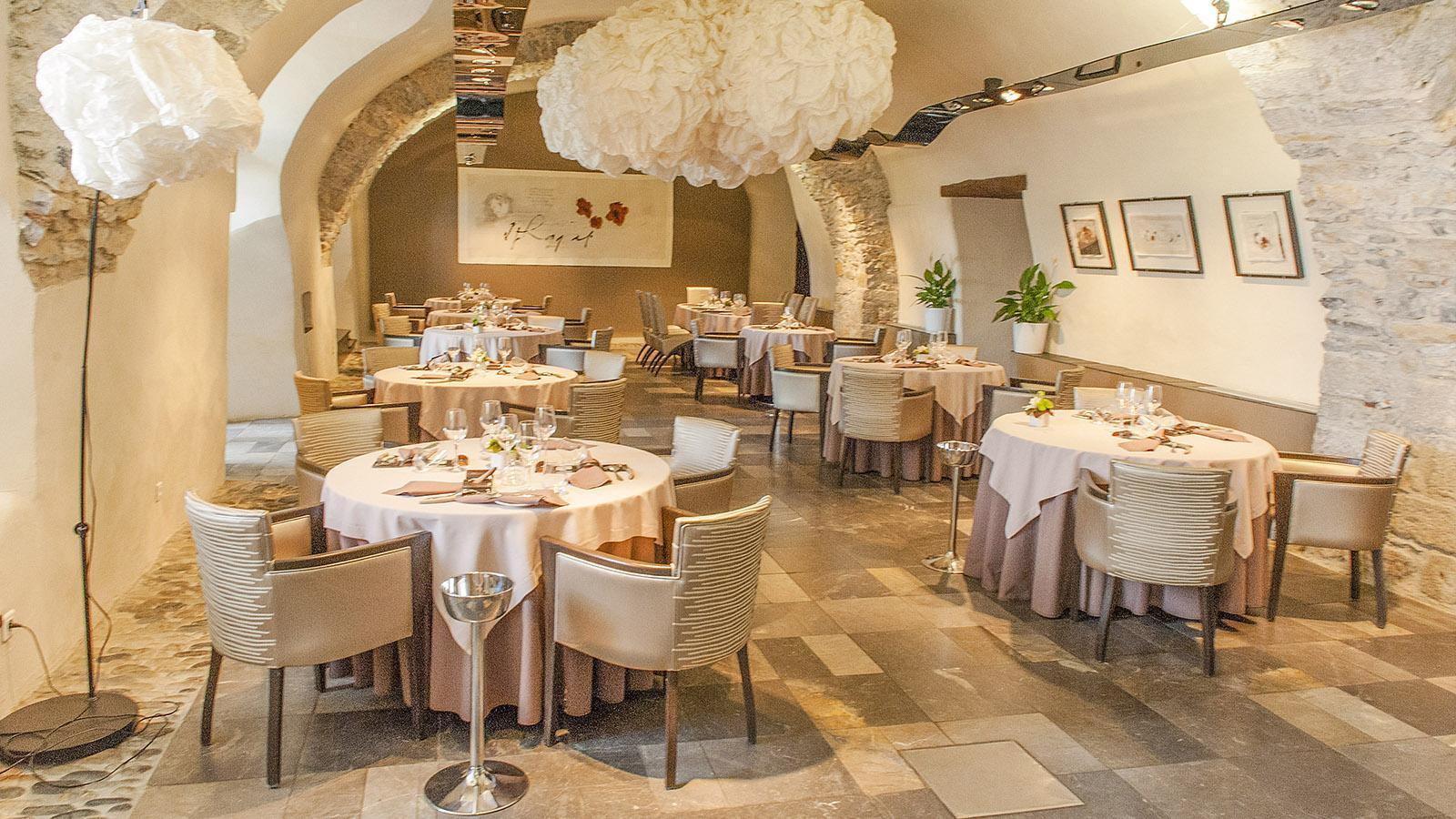 Ariège: das Restaurant Carré de l'Ange. Foto: Hilke Maunder