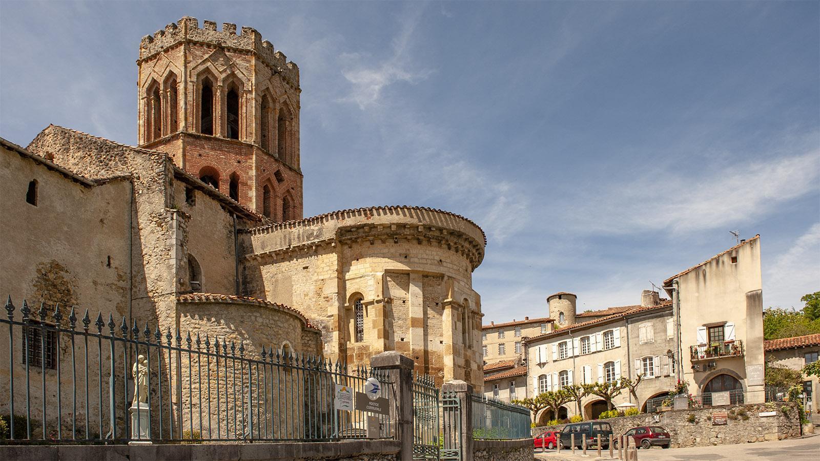 Ariège: Die Kathedrale Notre-Dame de la Sède von Saint-Lizier. Foto: Hilke Maunder