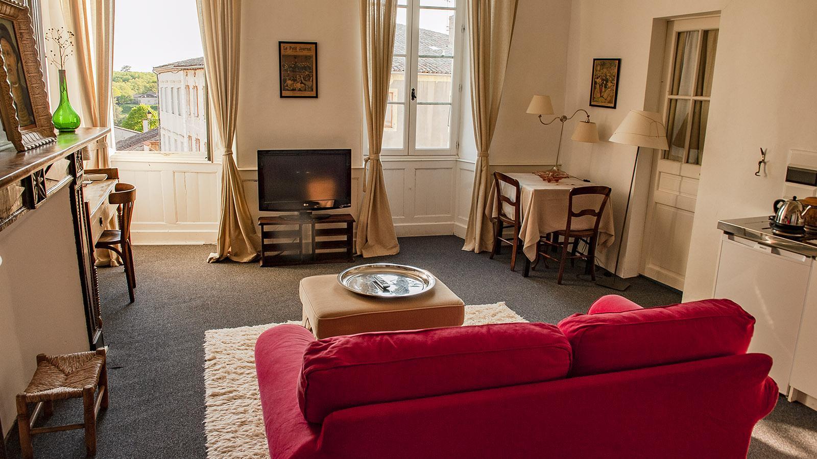 Aurignac: Hôtel Saint-Laurans. Foto: Hilke Maunder