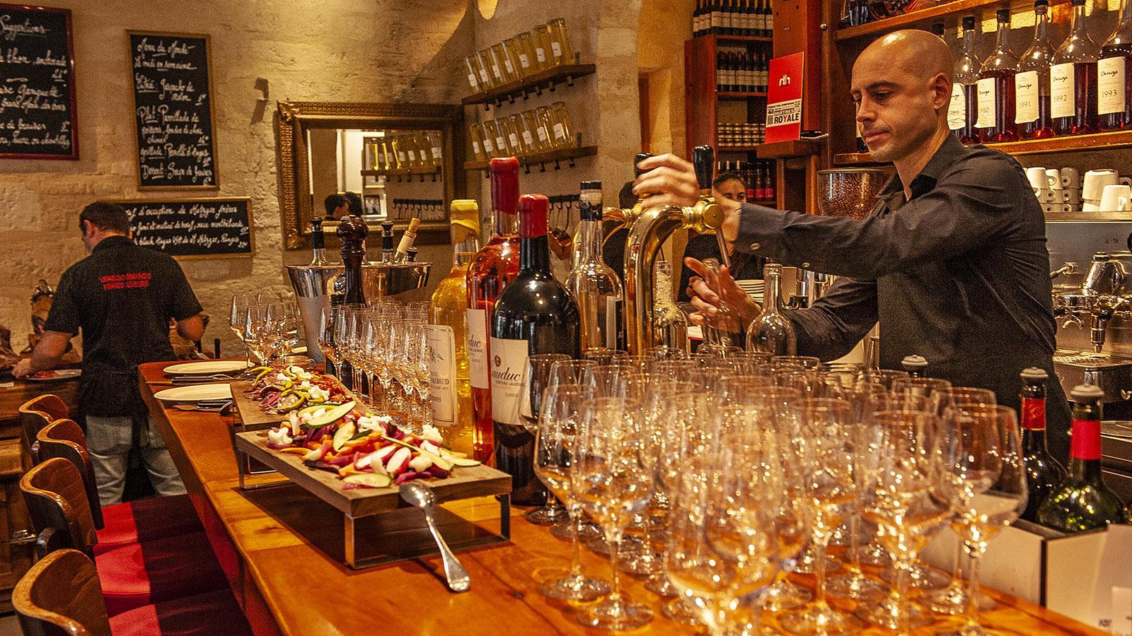 Bordeaux: Brasserie Bordelaise. Foto: Hilke Maunder