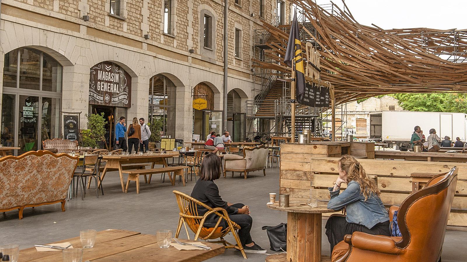 Bordeaux: Caserne Niel. Foto: Hilke Maunder