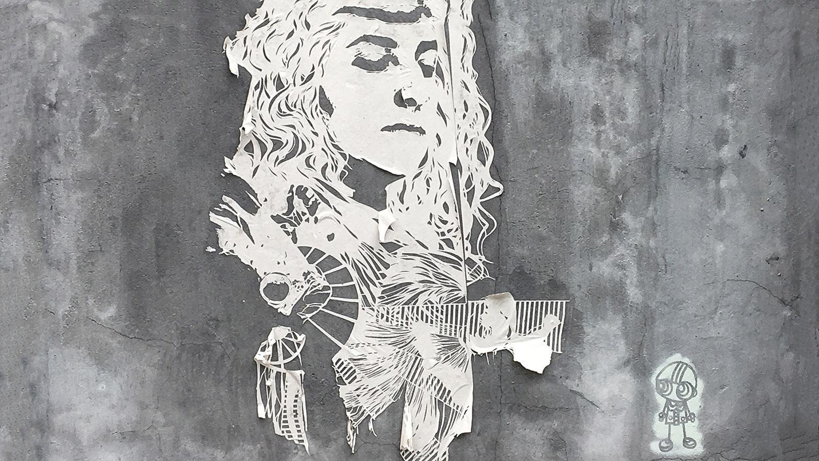 Bordeaux: Street Art im Chartrons-Viertel. Foto: Hilke Maunder
