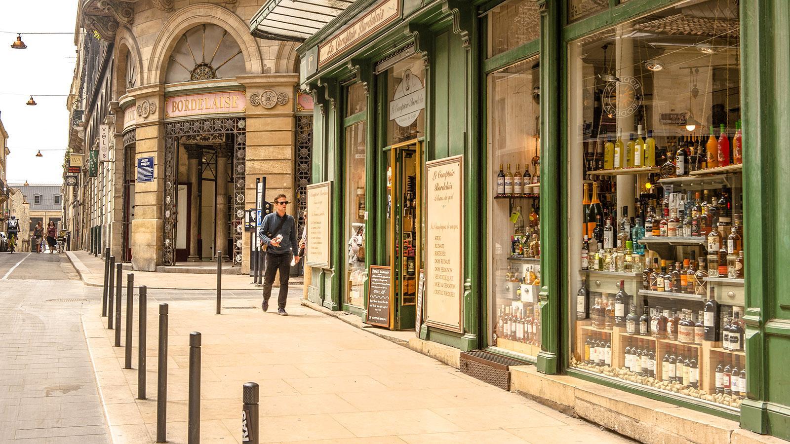 Bordeaux: Galerie Bordelaise. Foto:Hilke Maunder