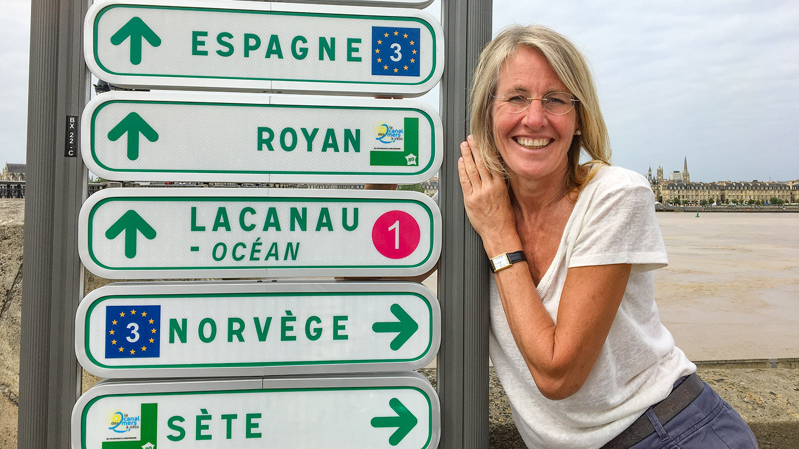 Durch Bordeaux führen mehrere große Radwanderrouten. Foto: Hilke Maunder