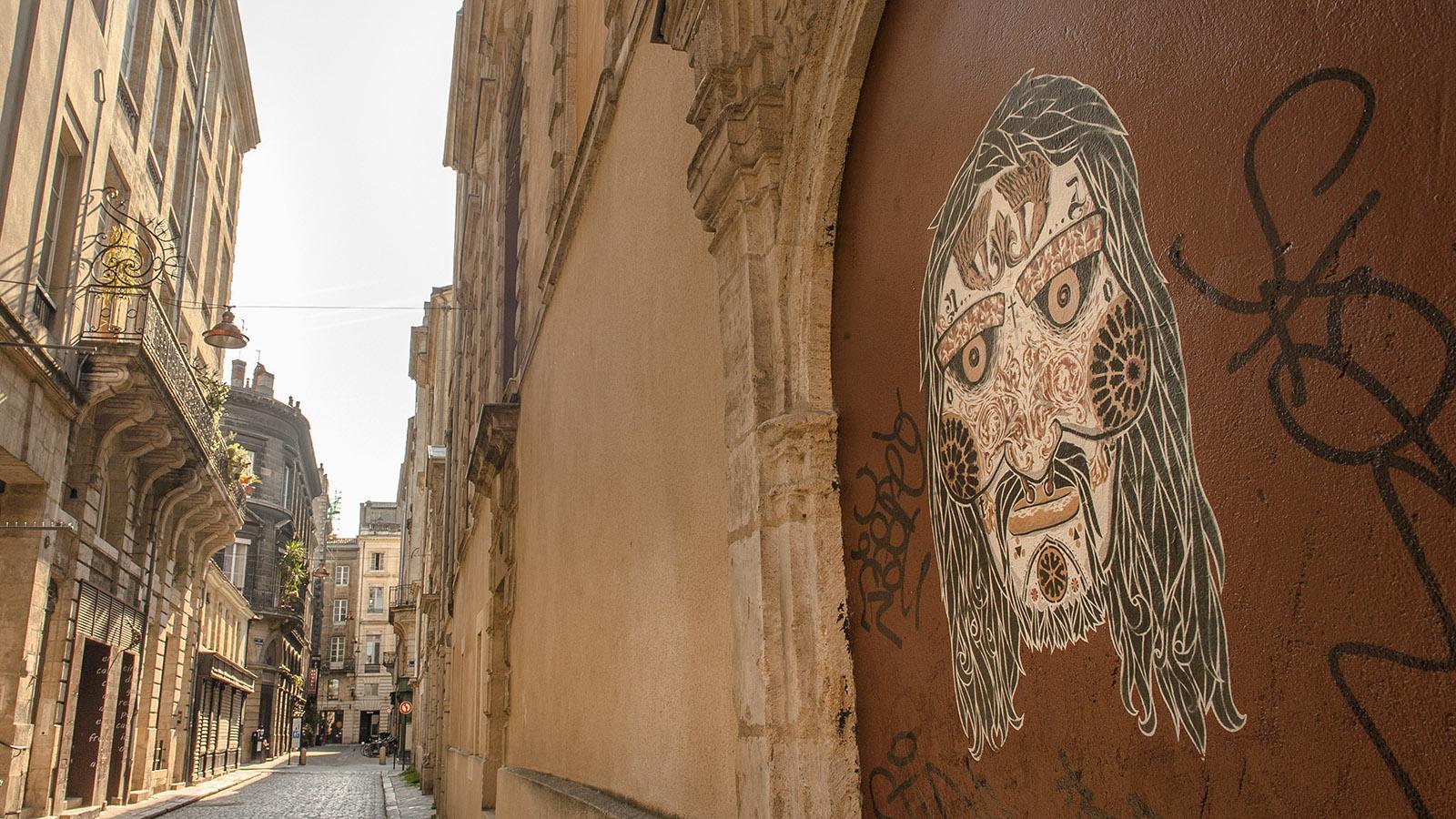 Street Art in der Innenstadt von Bordeaux. Foto: Hilke Maunder
