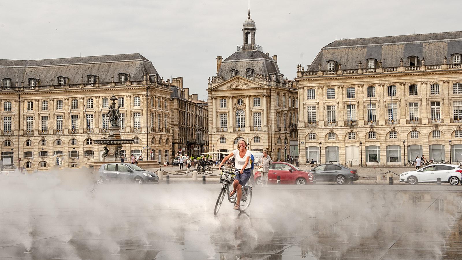 Bordeaux: Miroir d'Eau. Foto: Hilke Maunder