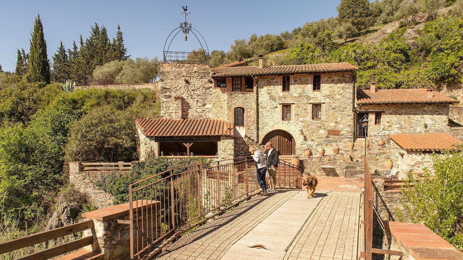 Moulin de Canterrane: die Wassermühle. Foto: Hilke Maunder