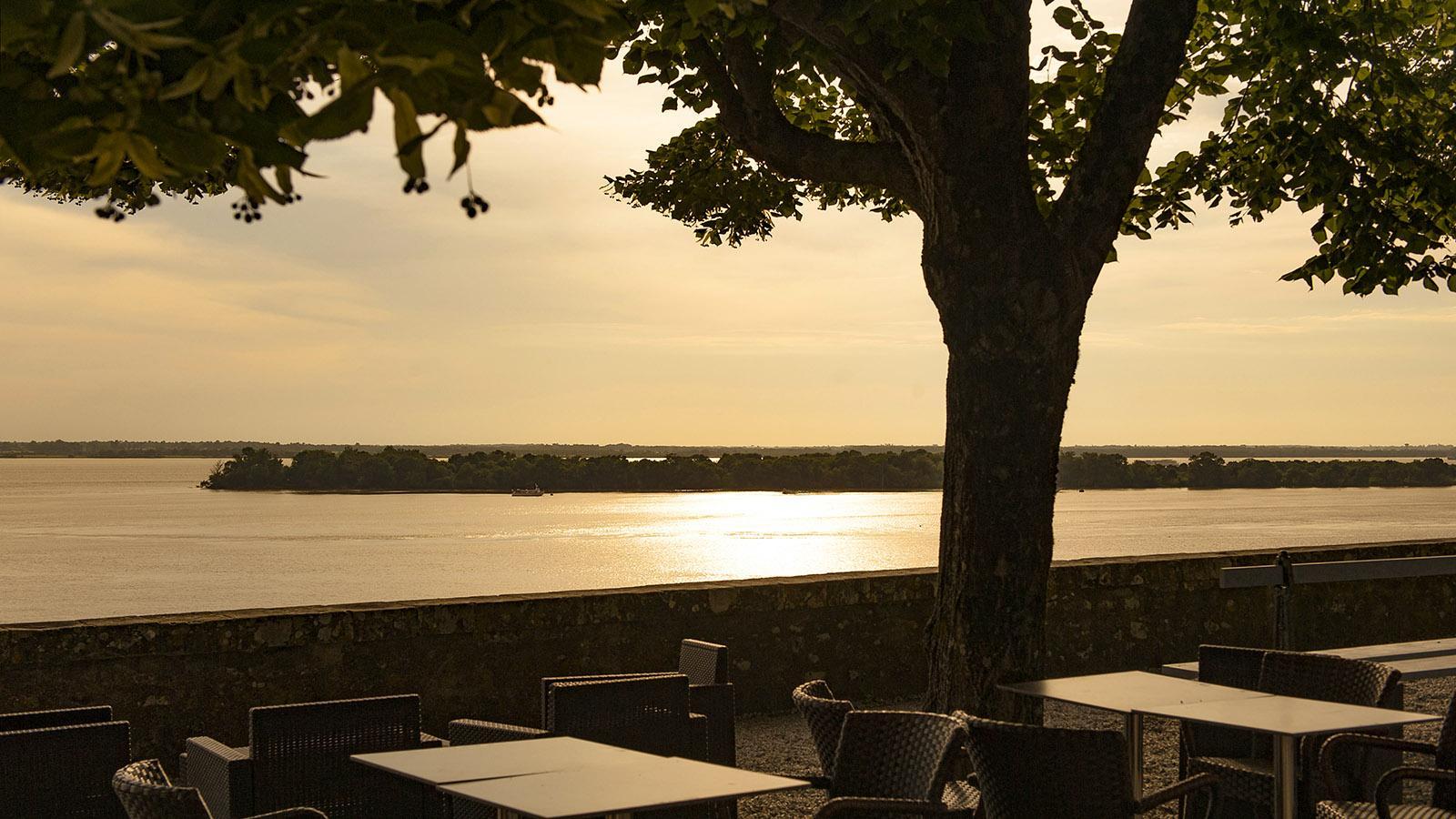 Zitadelle von Blaye, Blick auf die Gironde. Foto: Hilke Maunder