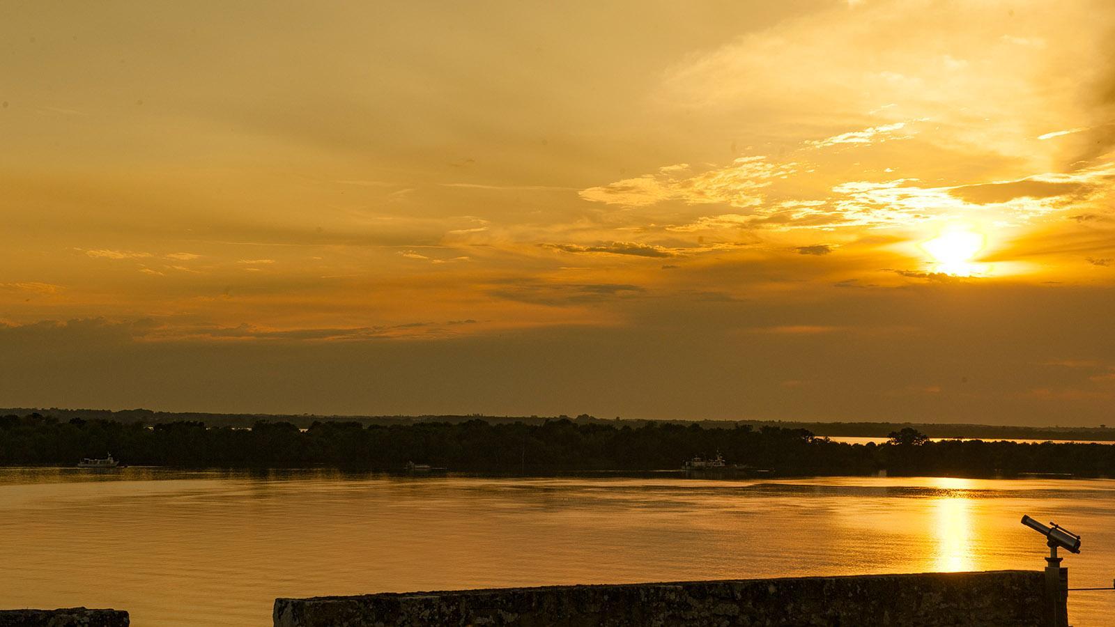 Die Gironde bei Blaye. Foto: Hilke Maunder