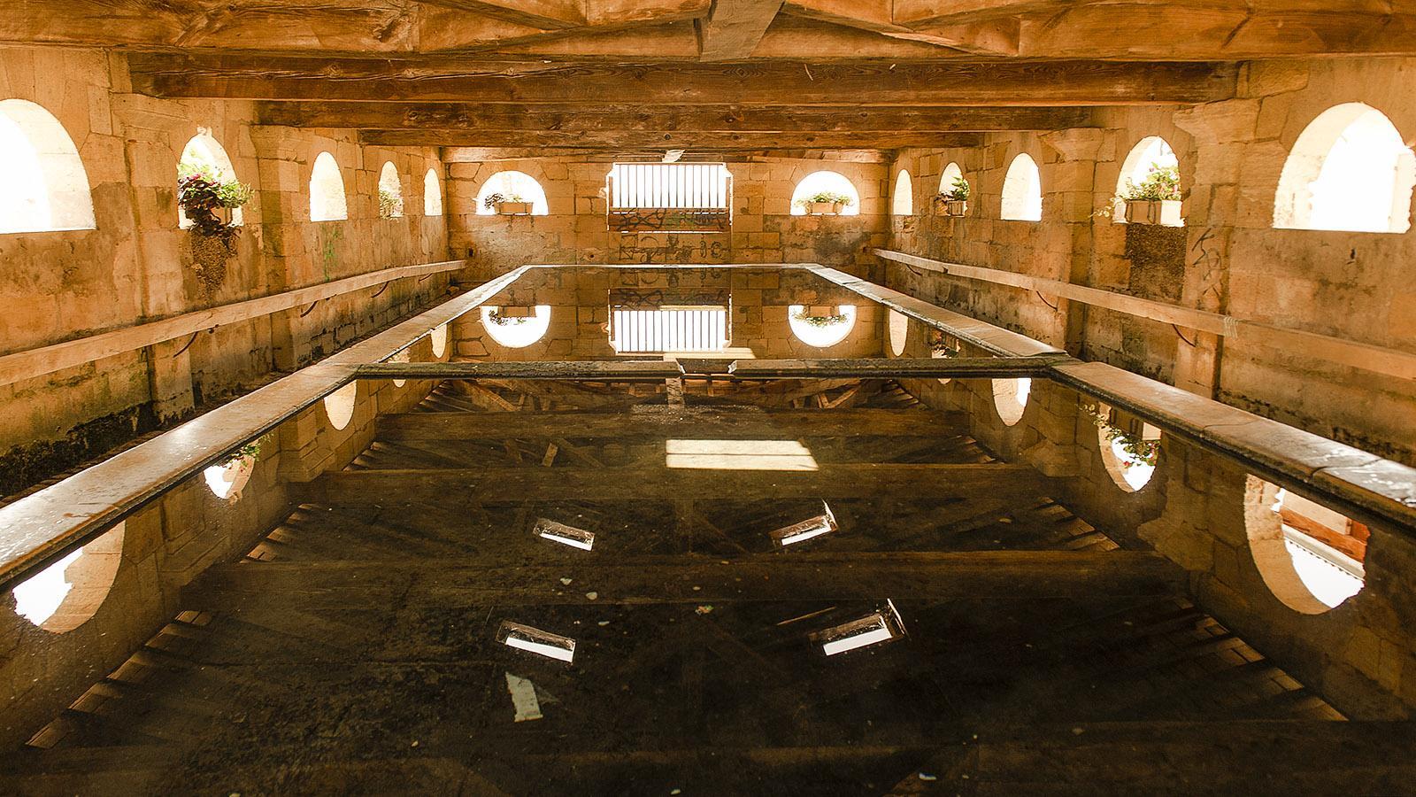 Bourg-sur-Gironde: das Waschhaus. Foto: Hilke Maunder