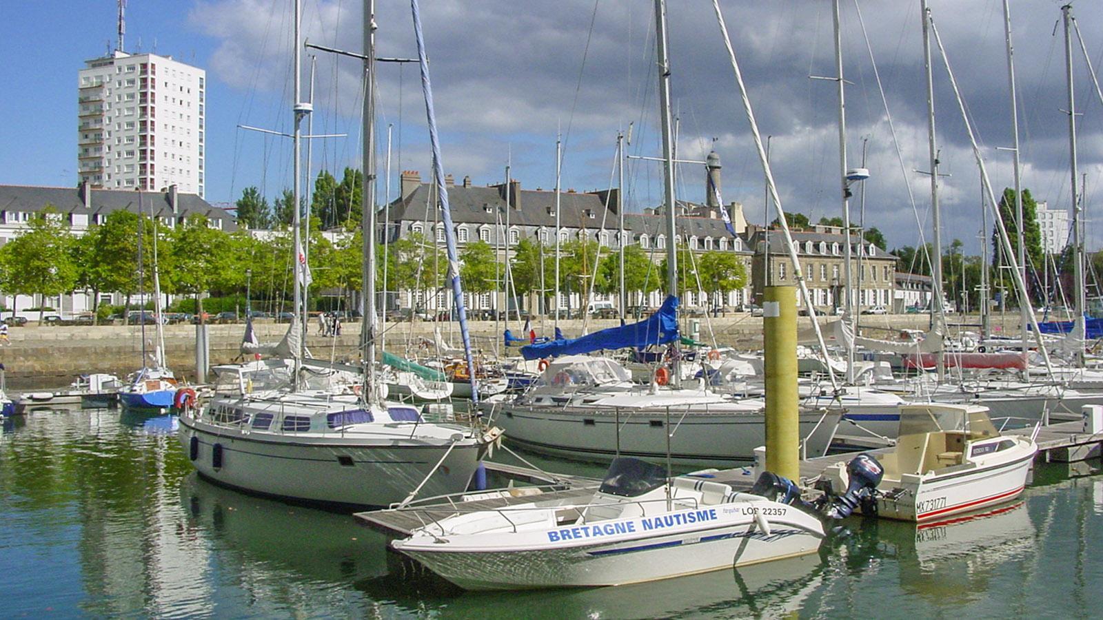 Der Port de Plaisance von Lorient. Foto: Hilke Maunder