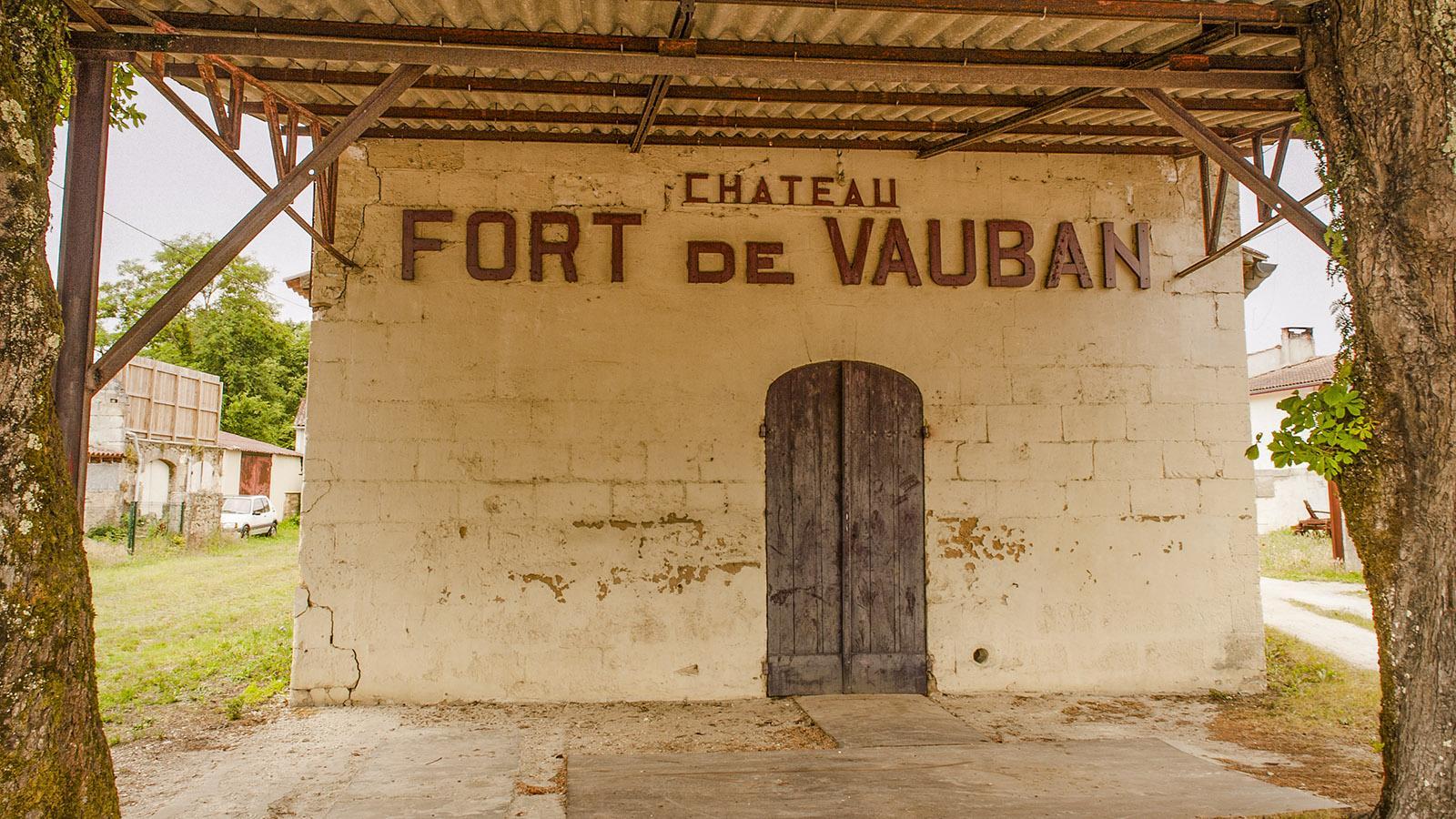 Médoc: Château Fort-de-Vauban. Foto: Hilke Maunder