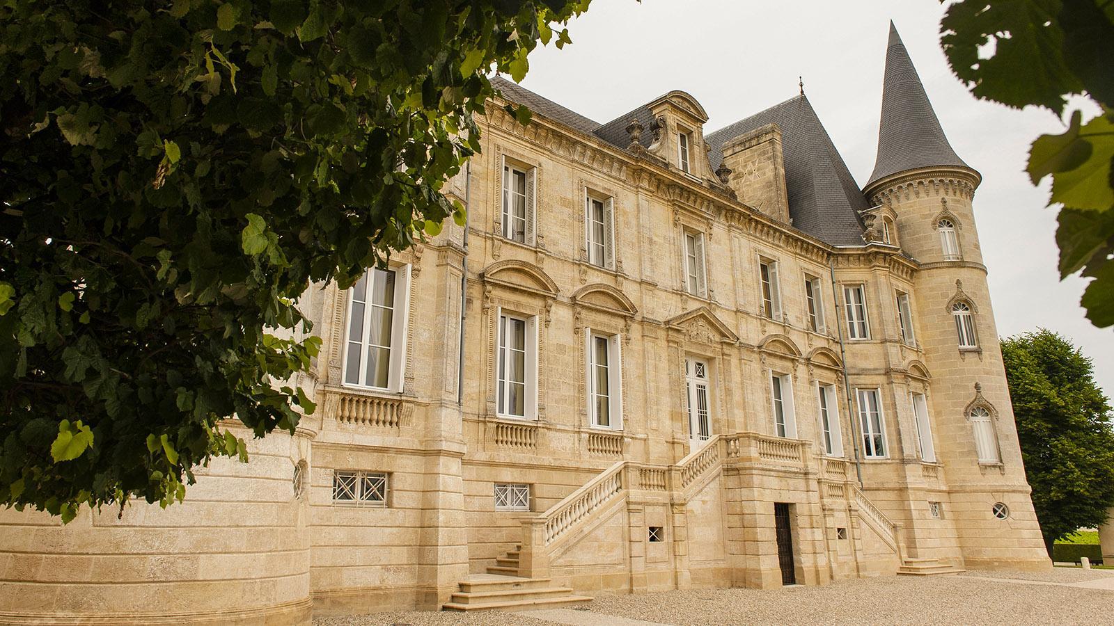 Médoch: Château Pichon-Baron. Foto: Hilke Maunder