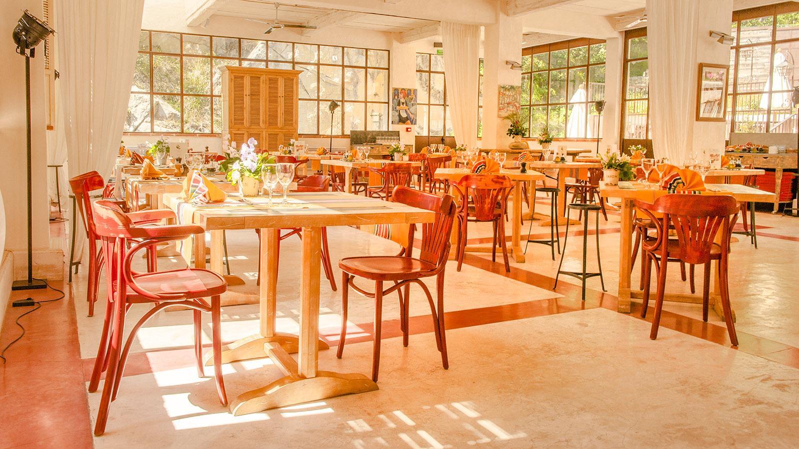 Der Speisesaal des Grand Hotels von Molitg-les-Bains. Foto: Hilke Maunder
