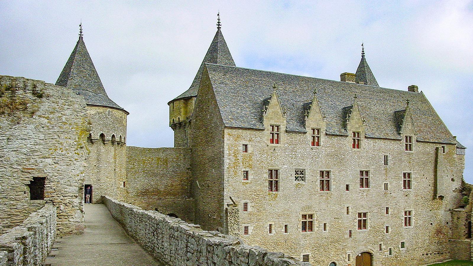 Das Château de Suscinio, die ehemalige Sommerresidenz der bretonischen Herzöge. Foto: Hilke Maunder
